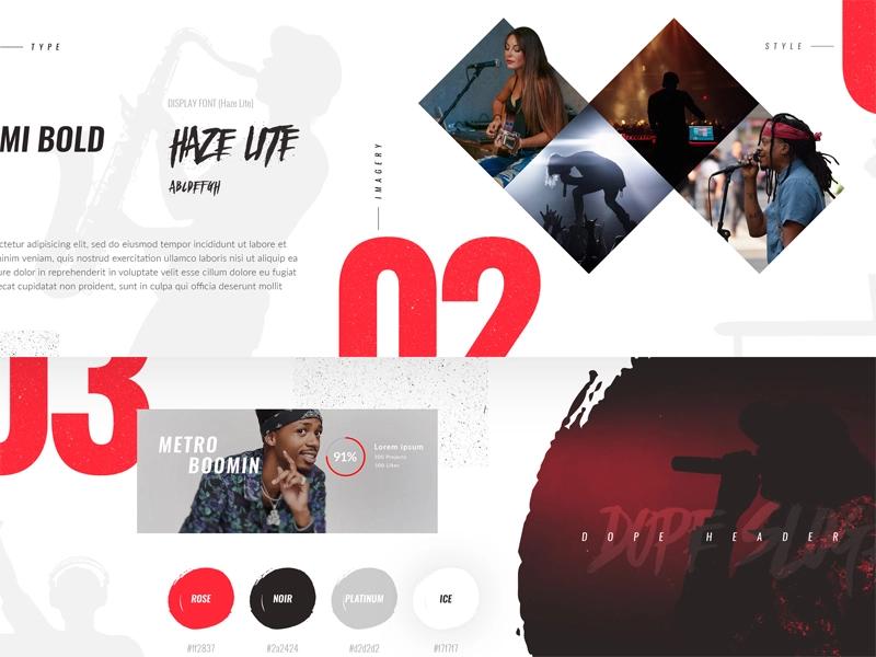 Stylescape Graphic Design: Stylescape Practice Project