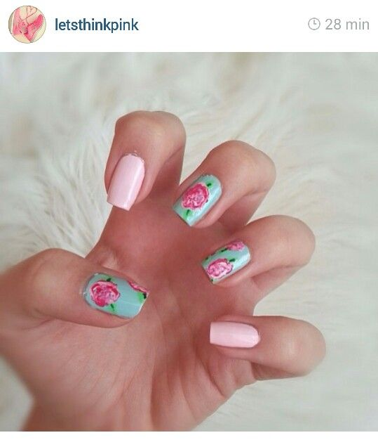 These are so beautiful and perfect for spring/summer! Too bad my nails are too short!