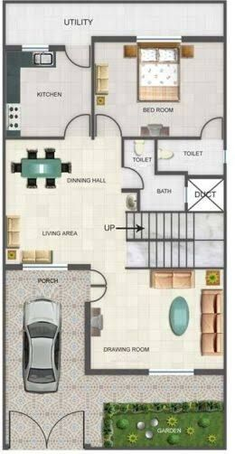 The Best Map Design For Home Duplex House Design Duplex Floor Plans Model House Plan