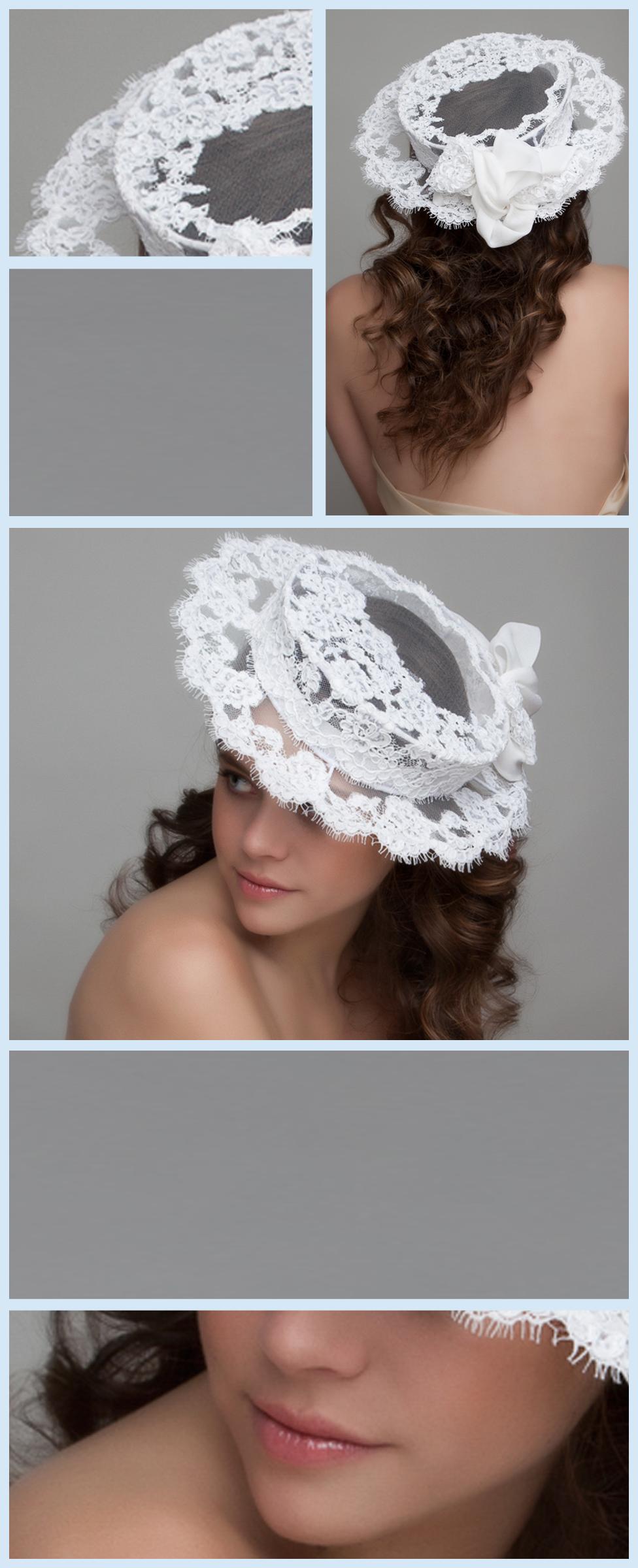46fabd859d9 Divine French Alecon Lace Hat