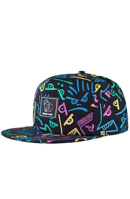 ed4a7d4dbd361 Bad Boy Club The Pool Party Unstructured Snapback in Multi ...