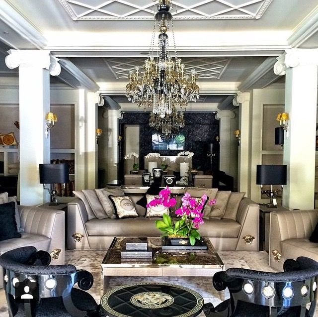 Versace home Home Decor Pinterest Versace, Living rooms and Room