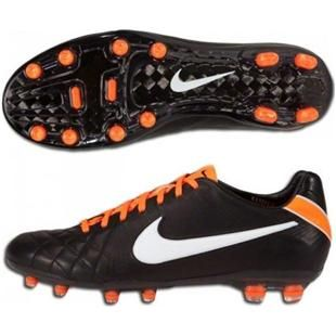 Nike Tiempo Legend Iv Elite Fg Soccer Cleats Black White Total Orange Cheap Soccer Cleats Soccer Shoes Soccer Cleats