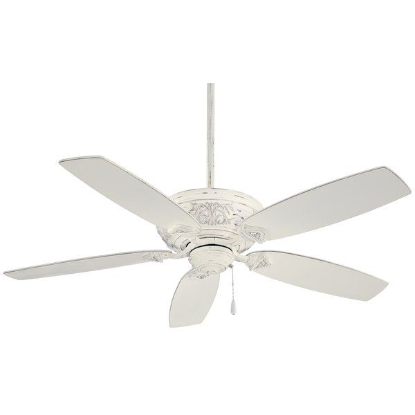 54 Classica 5 Blade Standard Ceiling Fan Ceiling Fan White Ceiling Fan Minka Aire Ceiling Fan