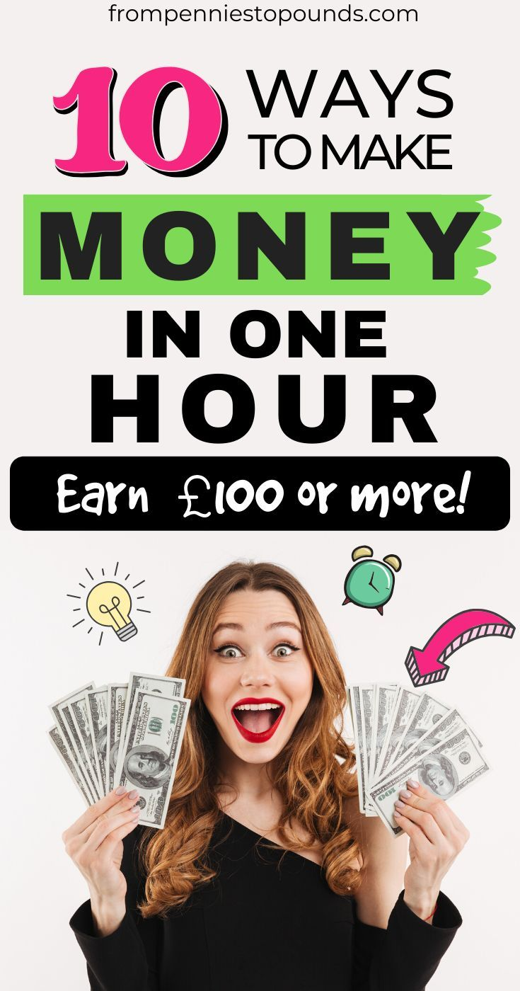 How To Make Money In One Hour - For When You Need