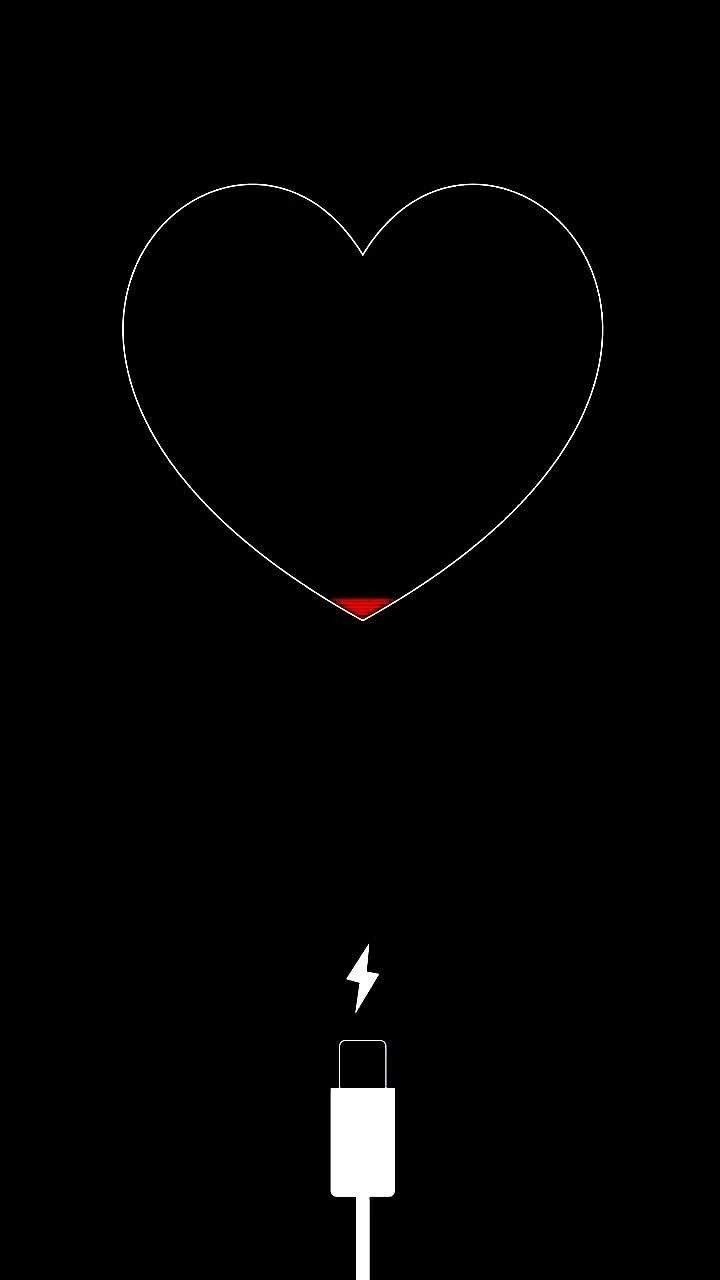 List of Top Black Wallpaper Iphone Quotes Heart for iPhone XS Max Free