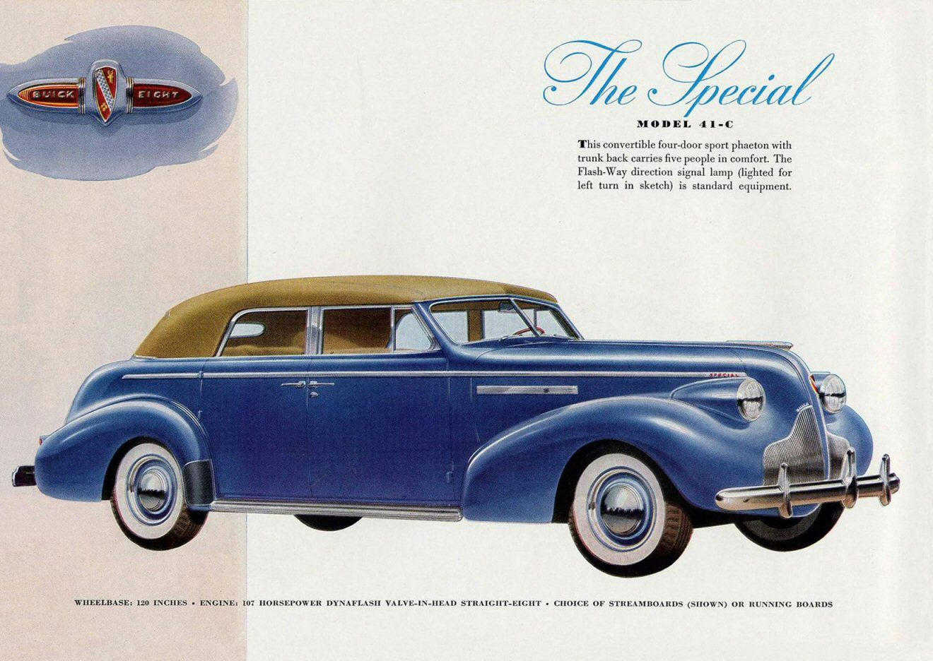 Image result for 1939 Buick sales brochures images