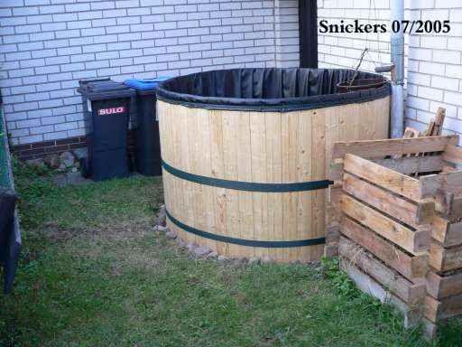 Fabriquer un r cup rateur d 39 eau de pluie en bois gestion de l 39 eau - Utilisation eau de pluie maison ...