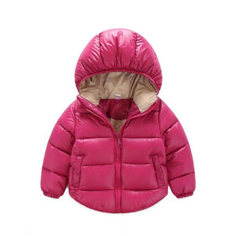 d89fc169c 4 Color Duck Down Baby Girl Boys Outerwear Infant Overcoat Winter ...