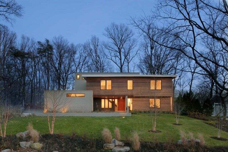 Lakefront Residence By Moore Architects Falls Church Virginia - Bathroom remodeler falls church va