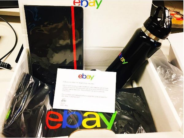 ebay onboarding kit   Induction Package   Corporate gifts