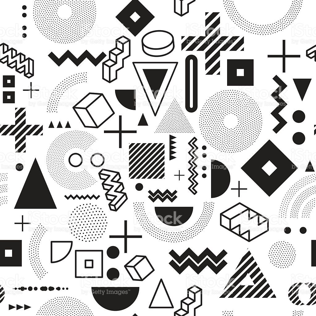background. seamless abstract pattern fashion 80-90s. it can be