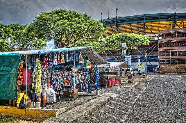 Shop for the best prices at the Aloha Stadium Swap Meet