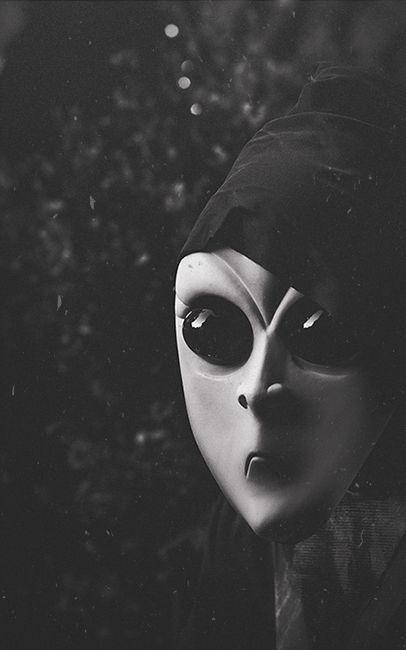 alien mask #mask #halloween #spooky #alien #costume
