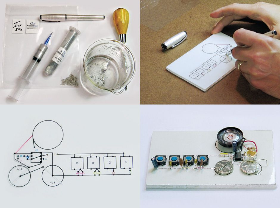 how to brew your own conductive ink draw working circuits in penhow to brew your own conductive ink draw working circuits in pen and ink