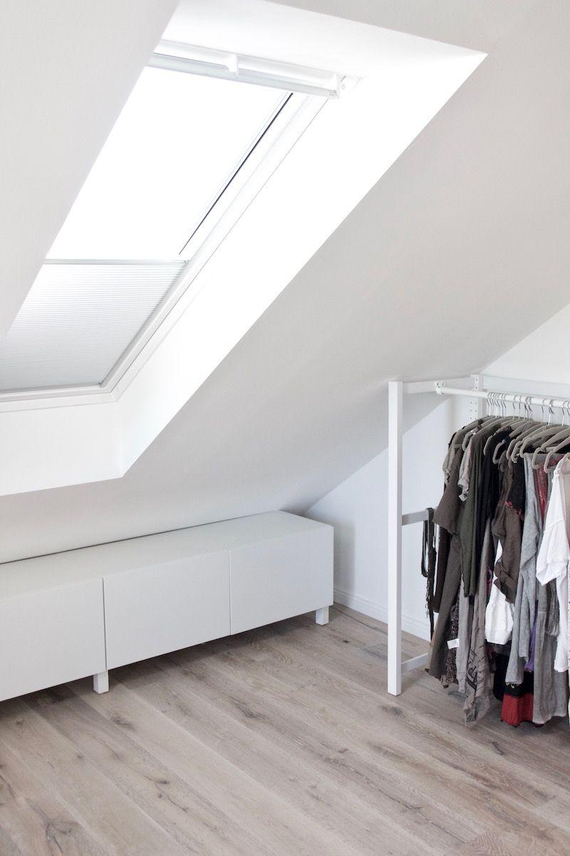 Offener Kleiderschrank Unter Der Dachschragen Ikea Hack Mit