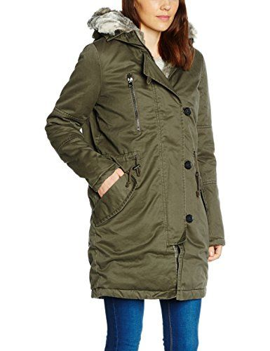 tom tailor denim damen mantel padded cotton parka tom tailor parka pinterest parka denim. Black Bedroom Furniture Sets. Home Design Ideas