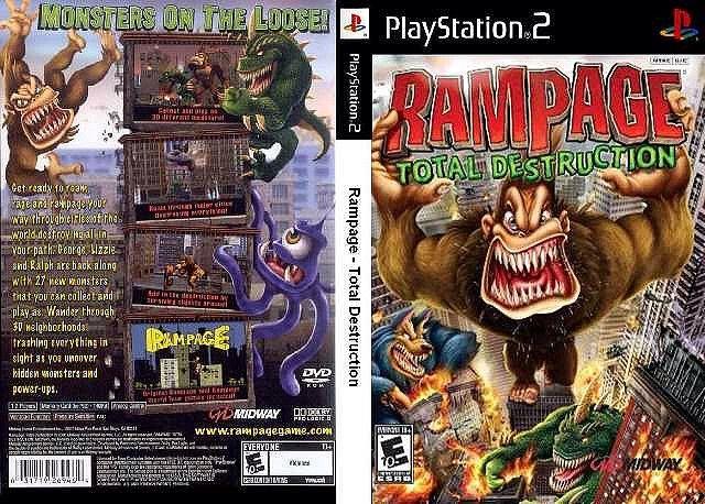 Rampage Total Destruction Ps2 Rampage Total Destruction Rampage