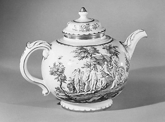 Teapot With Cover Doccia Manufactory Tuscanyagriturismogiratola