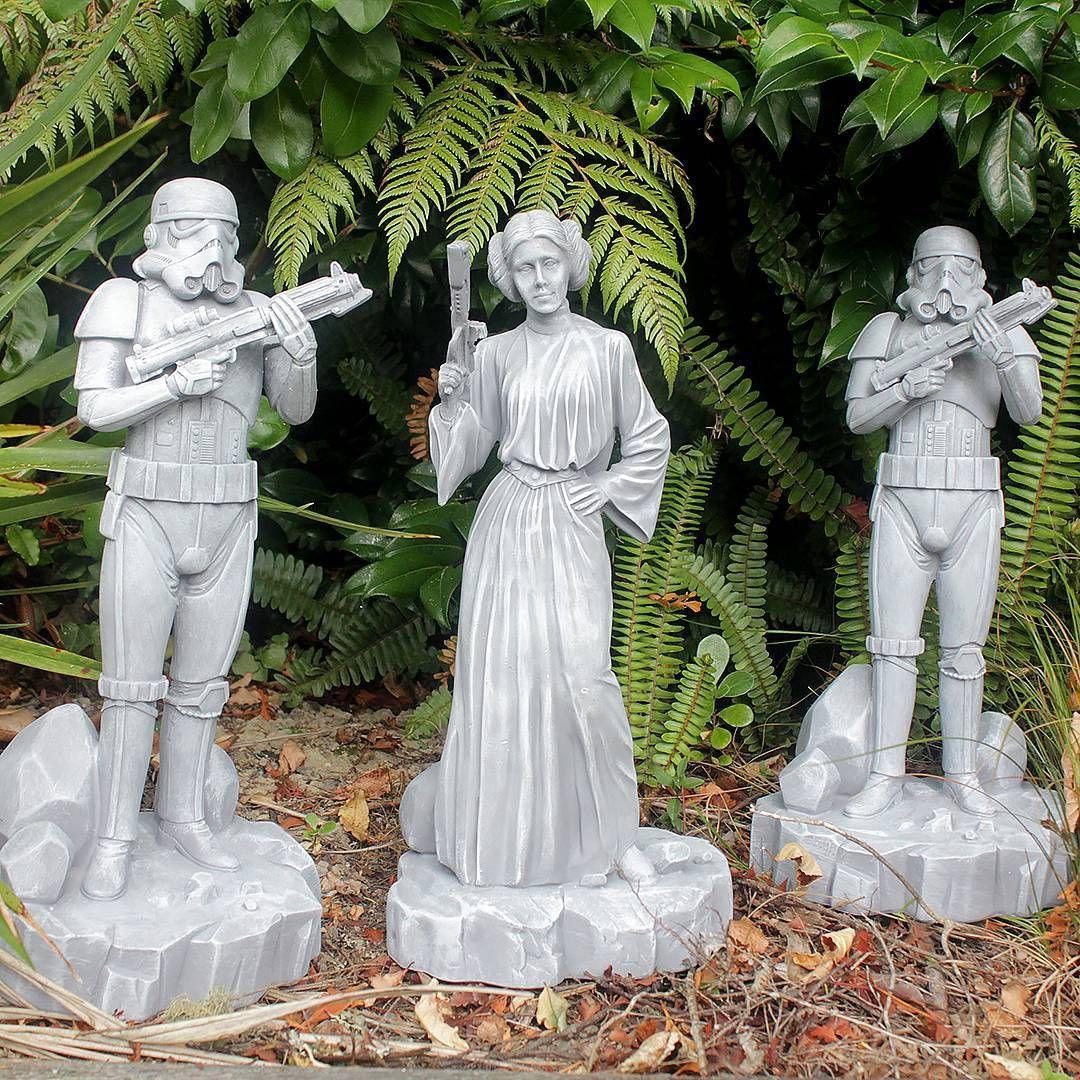 Star Wars Garden Ornaments From Bunnings Nz Star Wars New Zealand Garden Ornaments Garden Ornaments Uk Star Wars Decor