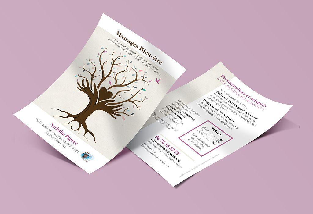 Communication Pour Du Massage Bien Etre Manon Cornaud