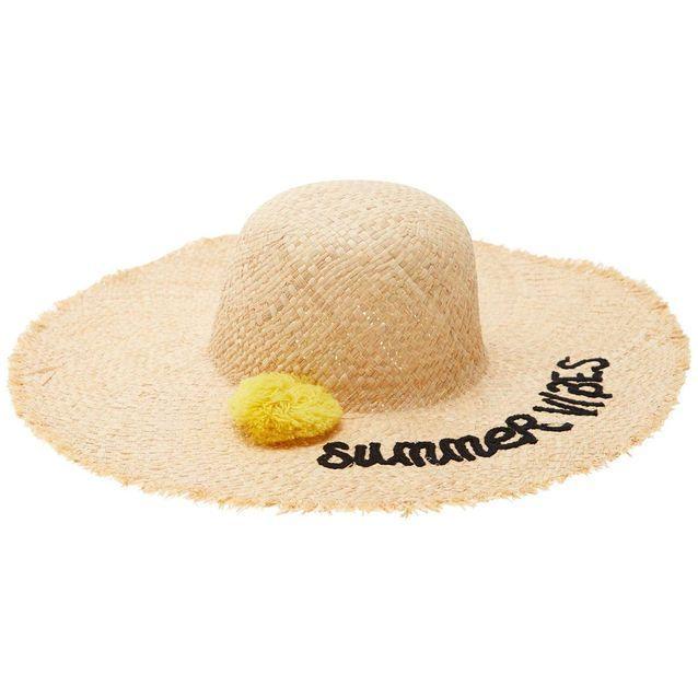 22 chapeaux de paille qui nous font de l œil   ACCESSOIRES   Pinterest 7a91a829c81
