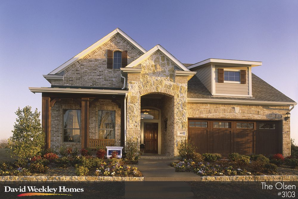 david weekley is one of the most prestigious home builders in the north dallas area - 4 Bedroom House Plans One Story For 2 Acres