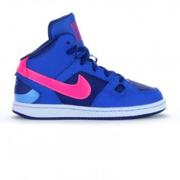 Sin aliento maíz Montón de  Nike Son Of Force Mid PS (blue/pink) | Nike, School shoes, Girls shoes