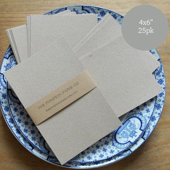 "kraft cardstock a x"" blank postcards kraft card blanks, invitation samples"