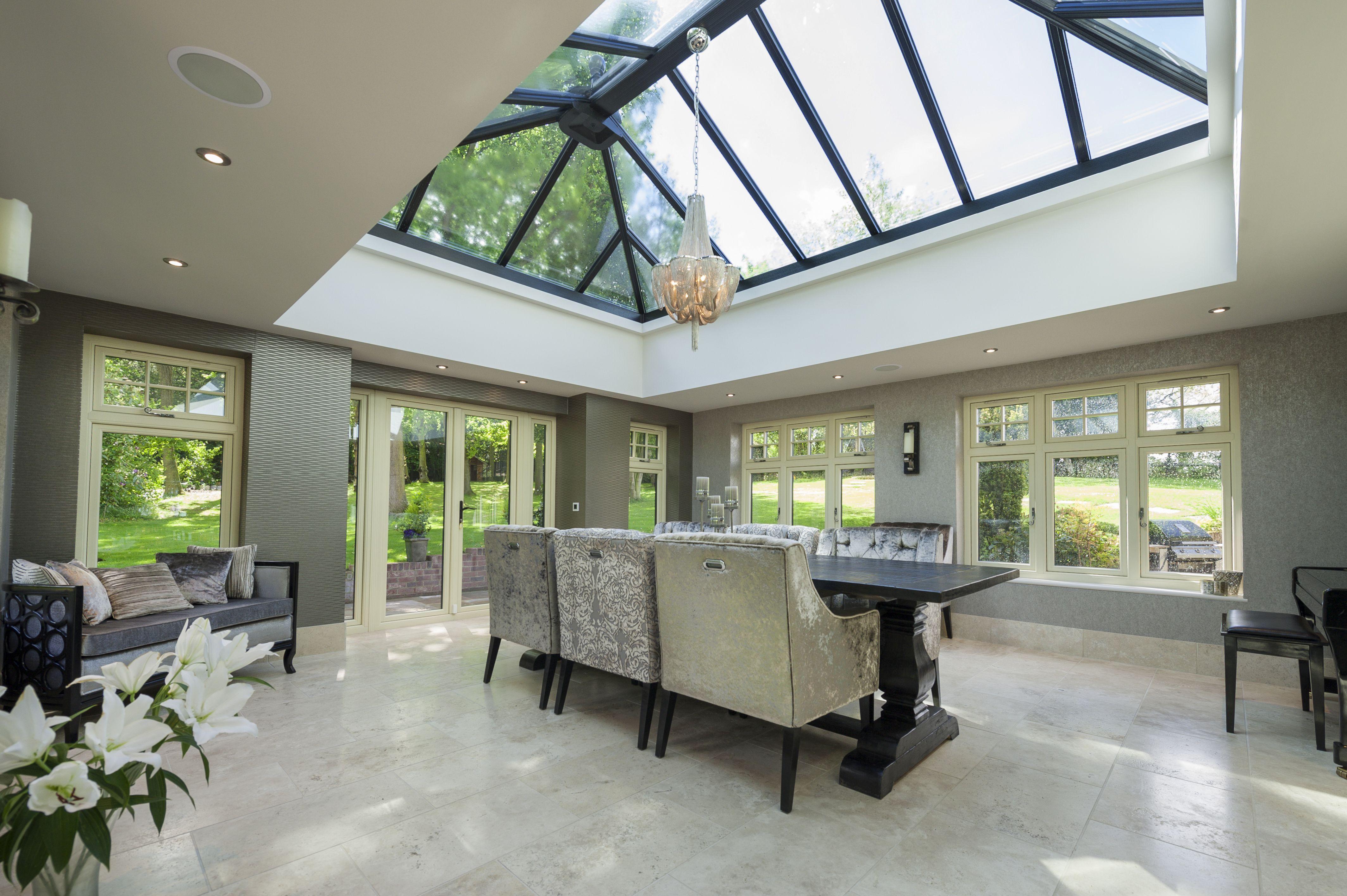 Beautiful modern residence orangery love these stylish