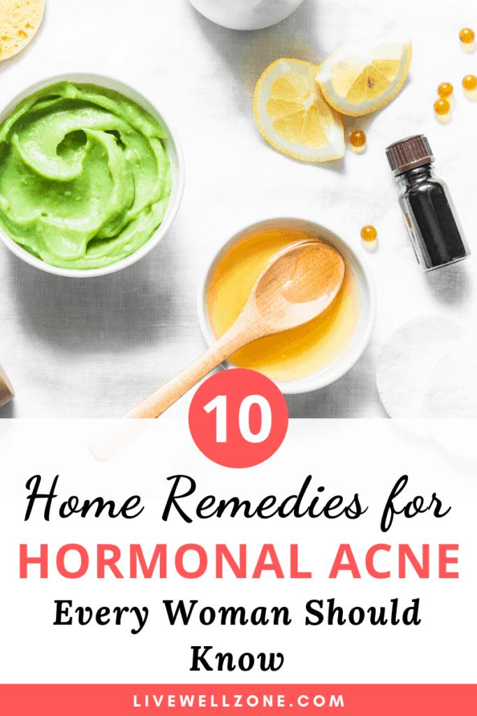 Hormonal Acne Treatment Natural