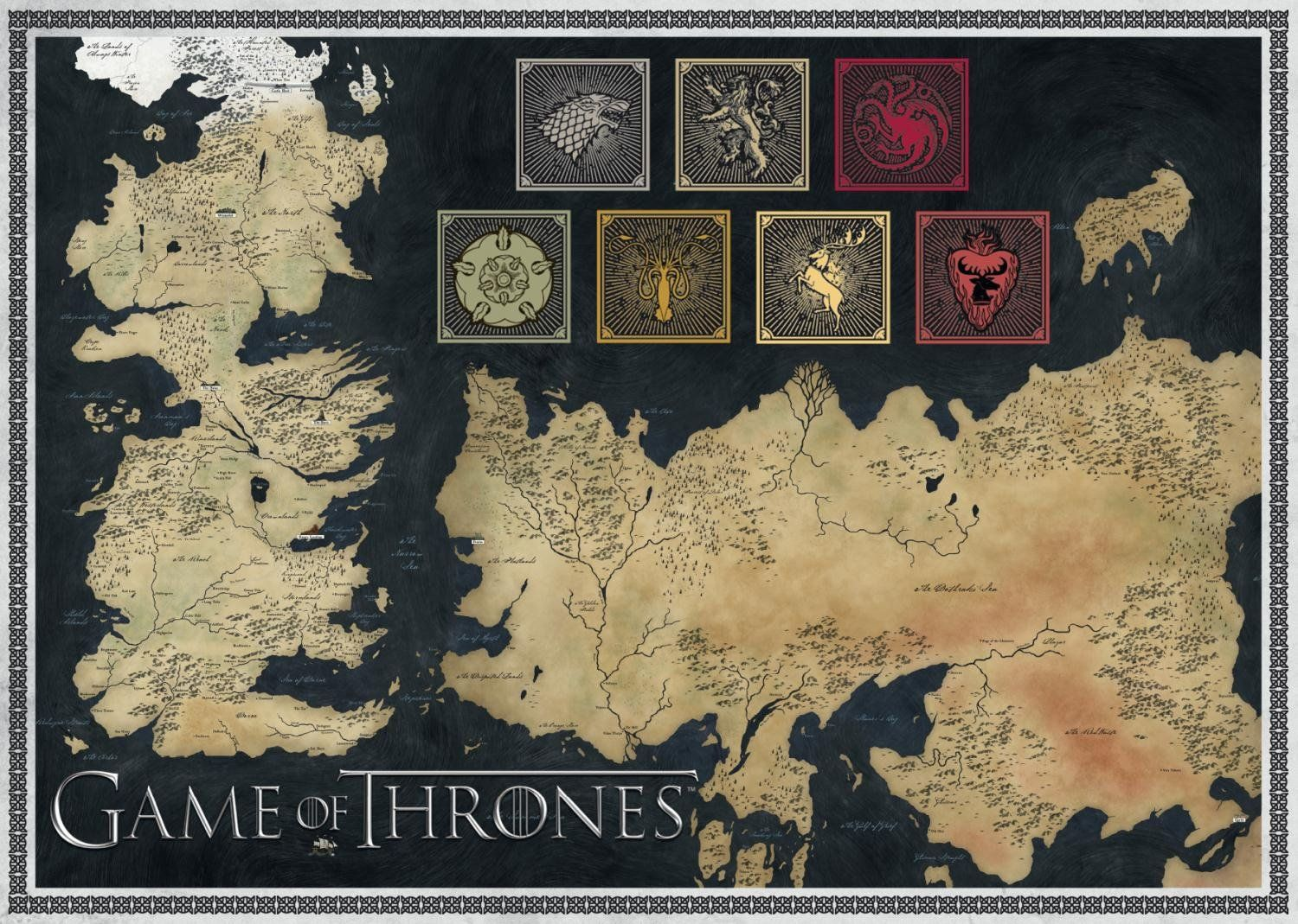 Game of thrones jigsaw puzzles explore game of thrones map jigsaw puzzles and more gumiabroncs Images