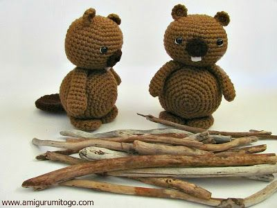 Amigurumi To Go: Amigurumi Beaver Free Tutorial | Crochet Toys ...
