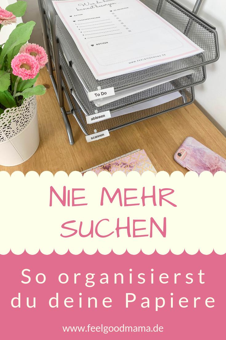 Papiere organisieren: So bringst du System in das Papierchaos