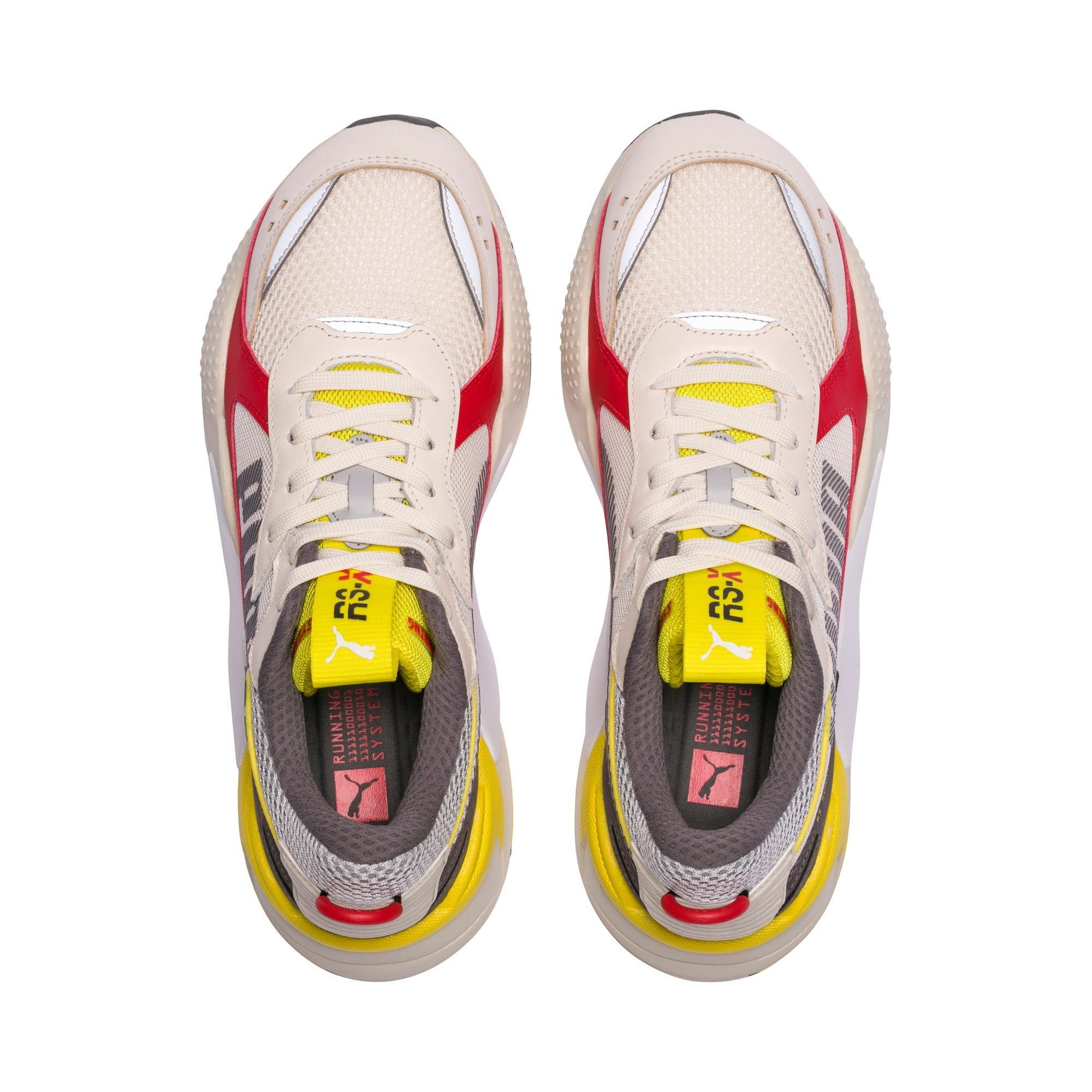 PUMA Rs-X Bold Trainers in Whisper White/High Risk Red size ...