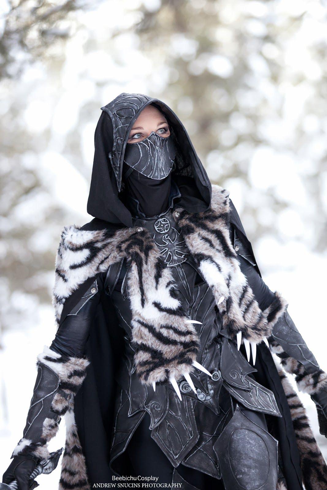 Skyrim Halloween Costume & Daedric Armor Halloween Costume