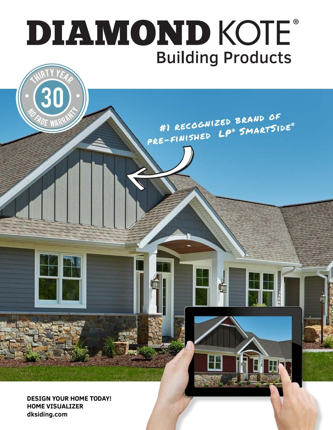 Diamond Kote Consumer Catalog 2019 Lp Smart Siding Exterior Siding Lake Houses Exterior