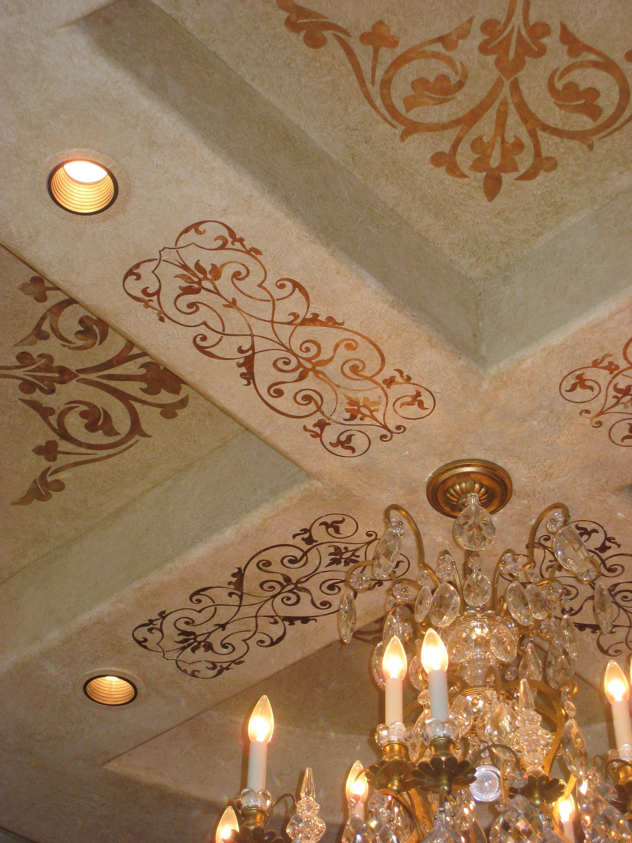 Elegant And Simple Ceilings Painted Ceiling Wall Painting Decor