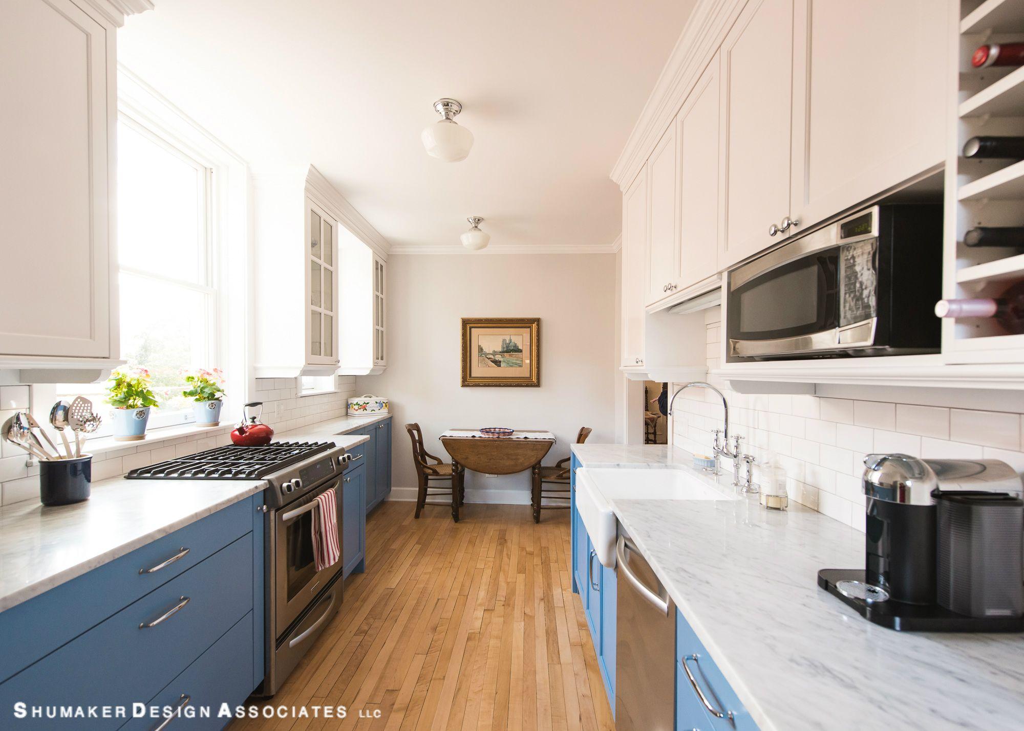 Kitchen Design Evanston cooks blue kitchen #shumakerdesignassociates #evanston #northshore