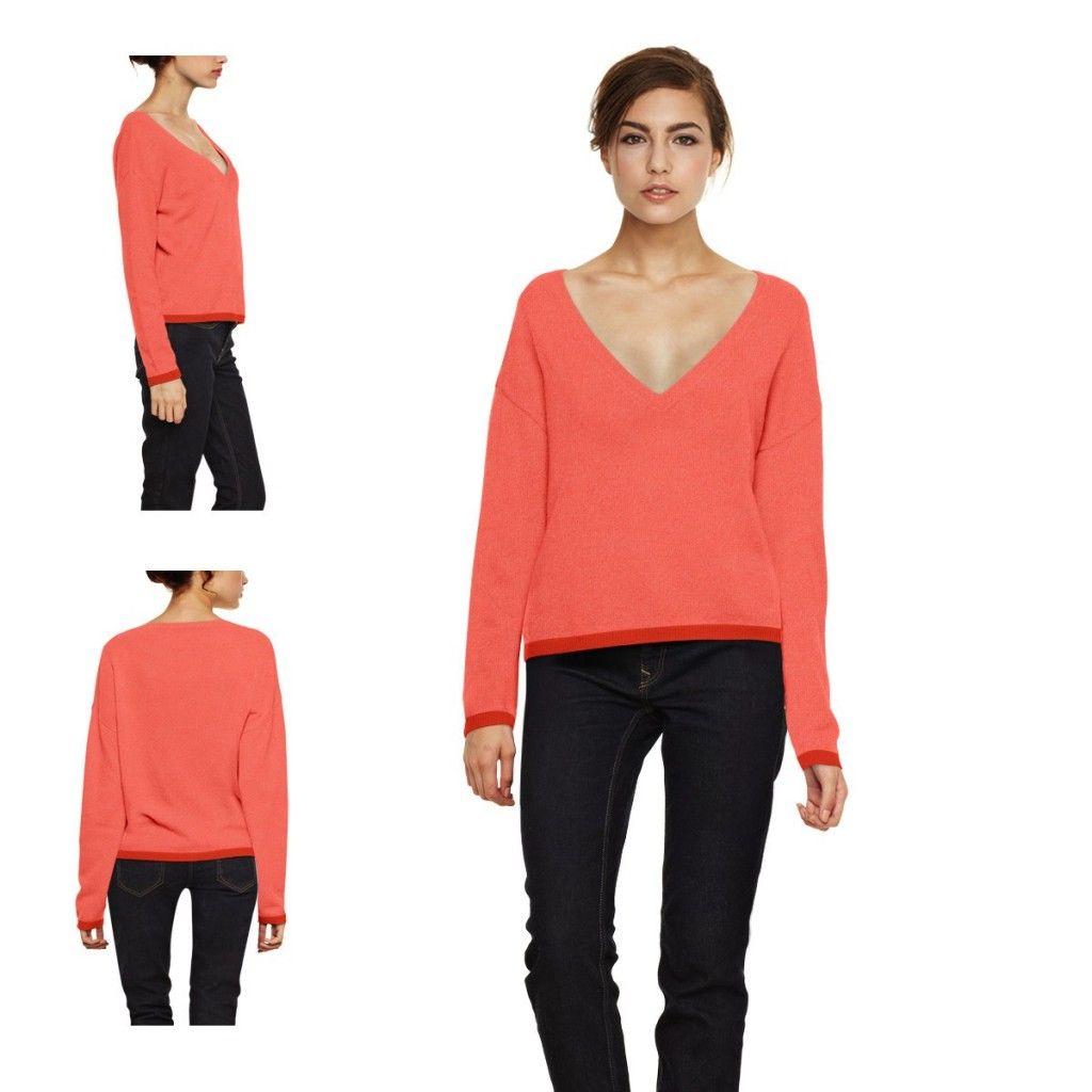 2e7dd21010f7d modele tricot pull femme col v Couture Ideas, Pull Col Bateau, Layette,  Torsades
