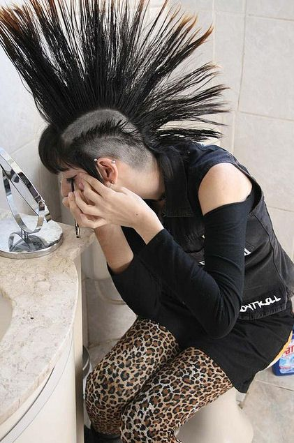 How do you know if you will look good with a mohawk?