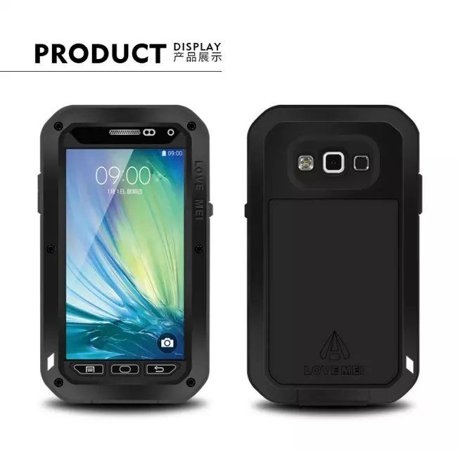 finest selection b9aaa e016f A7 Original Love mei Waterproof Case For Samsung Galaxy A7 A7000 ...