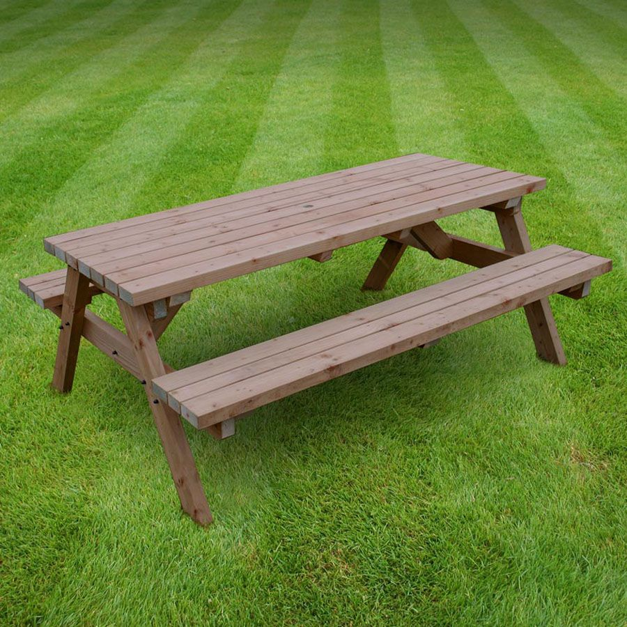 Furniture   Garden Furniture World. Garden Furniture World Essentials Oakham 7ft Picnic Bench   The