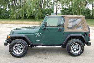 Green Jeep Wrangler Tan Top Google Search Green Jeep Wrangler