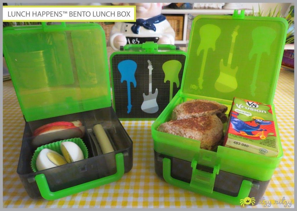 b4000aa6521c Lunch Happens Bento Box from Itzy Ritzy | Creative Ideas! | Bento ...