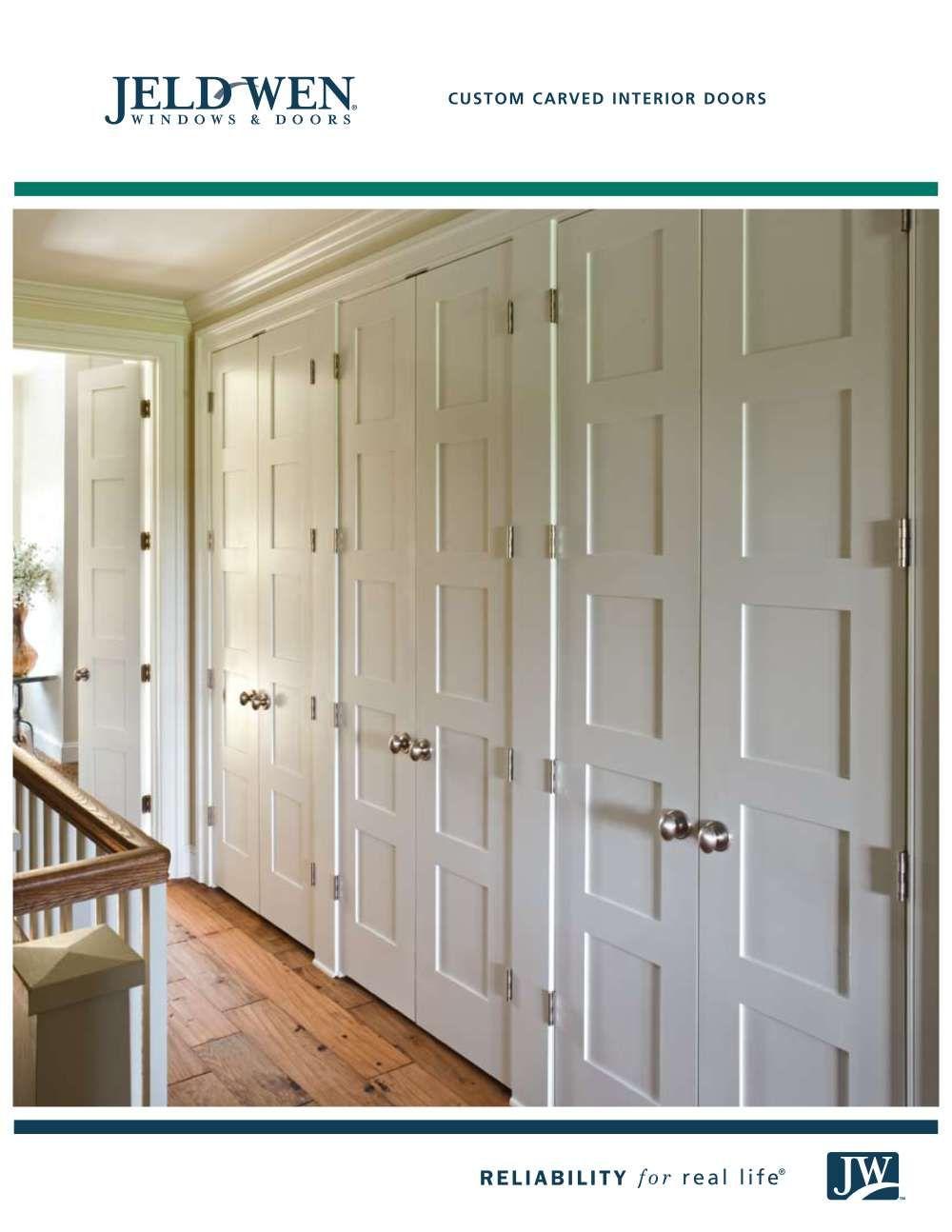 Jeld Wen Windows And Doors Jeld Wen Custom Carved Interior Door Brochure 2009 0 With Images Doors Interior Interior Doors For Sale Jeld Wen Interior Doors