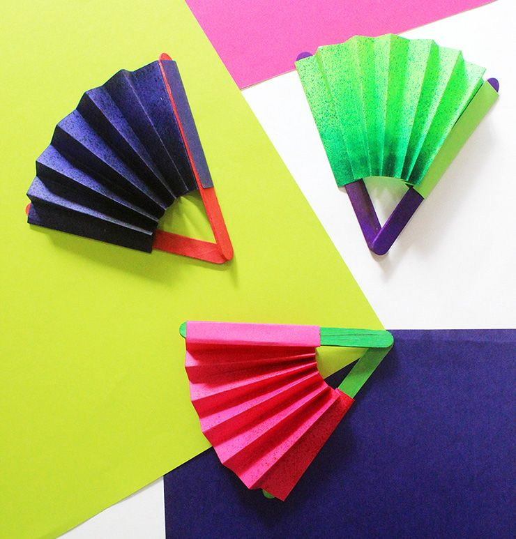 Looking For Quick Crafts For Kids Learn How To Make A Paper Fan