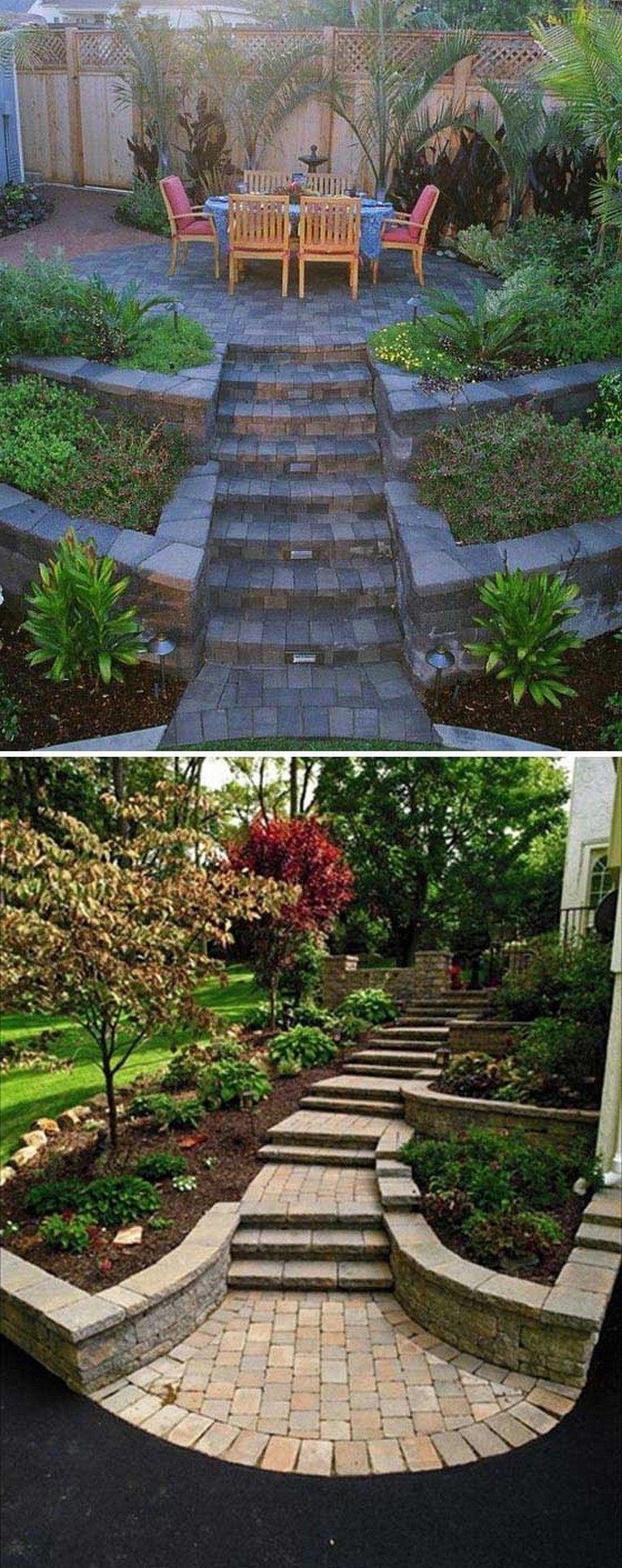 Small Backyard Landscaping Ideas on A Budget | Sloped ... on Small Sloped Backyard Ideas On A Budget  id=38020