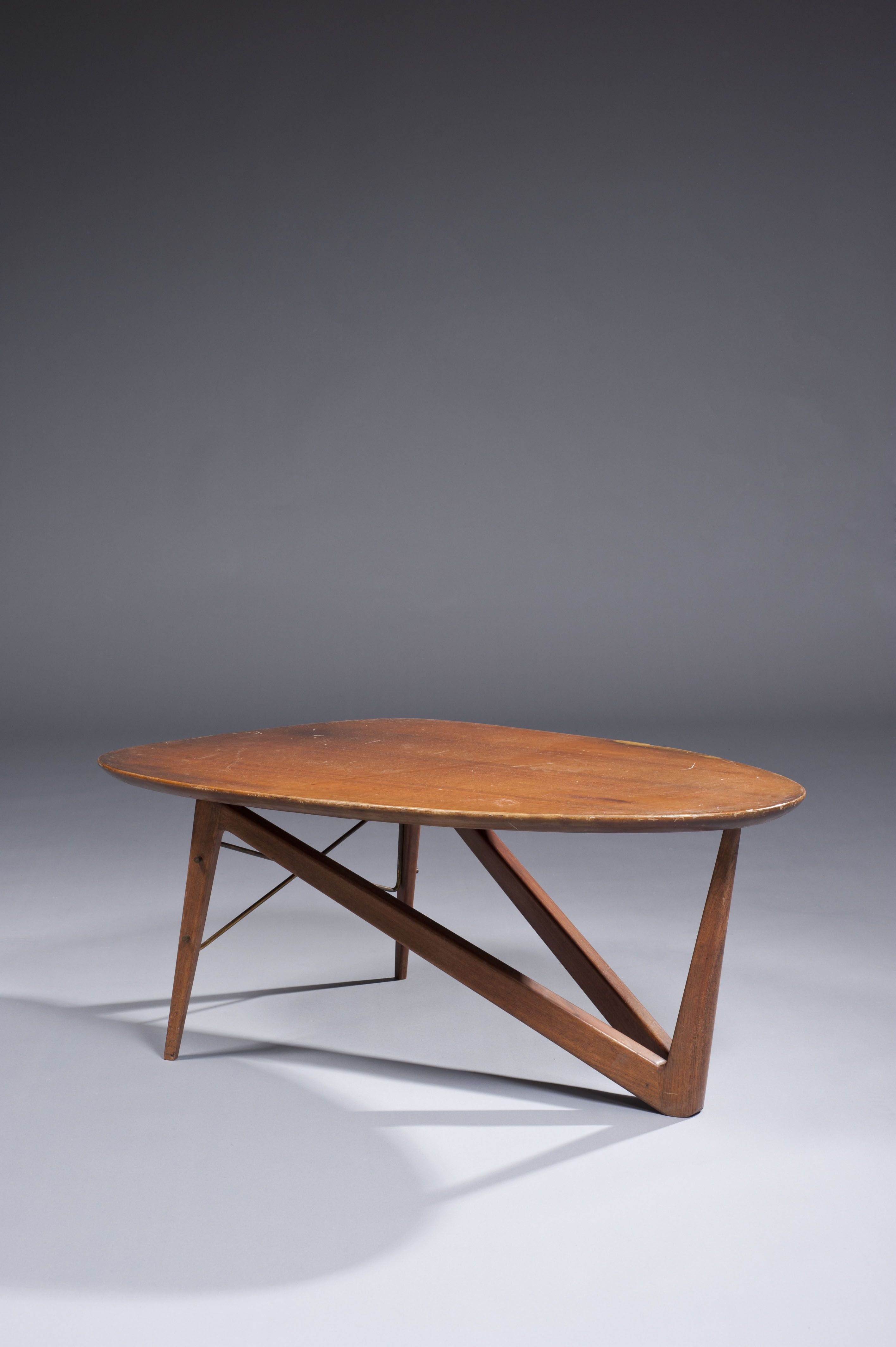 Louis Sognot Coffee Table 1950s Coffee Table Coffee Table