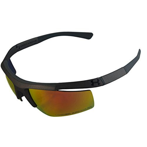 59327c72c2c Under Armour UA Core Satin Gray Frame Orange Mirror Lenses Mens Sport  Sunglasses -- You can get more details by clicking on the image.